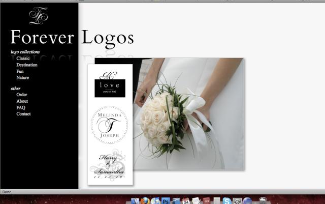 Forever Logos website
