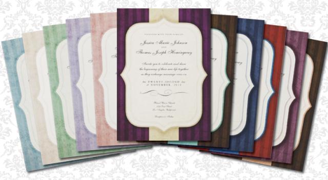 Vintage Charm Wedding Invitations