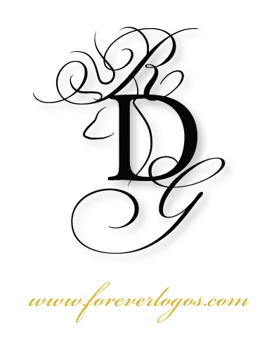 Browning Buckmark inspired wedding logo, final